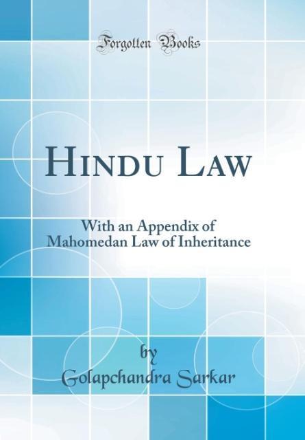 Hindu Law als Buch von Golapchandra Sarkar
