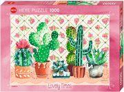 Cactus Family Puzzle 1000 Teile
