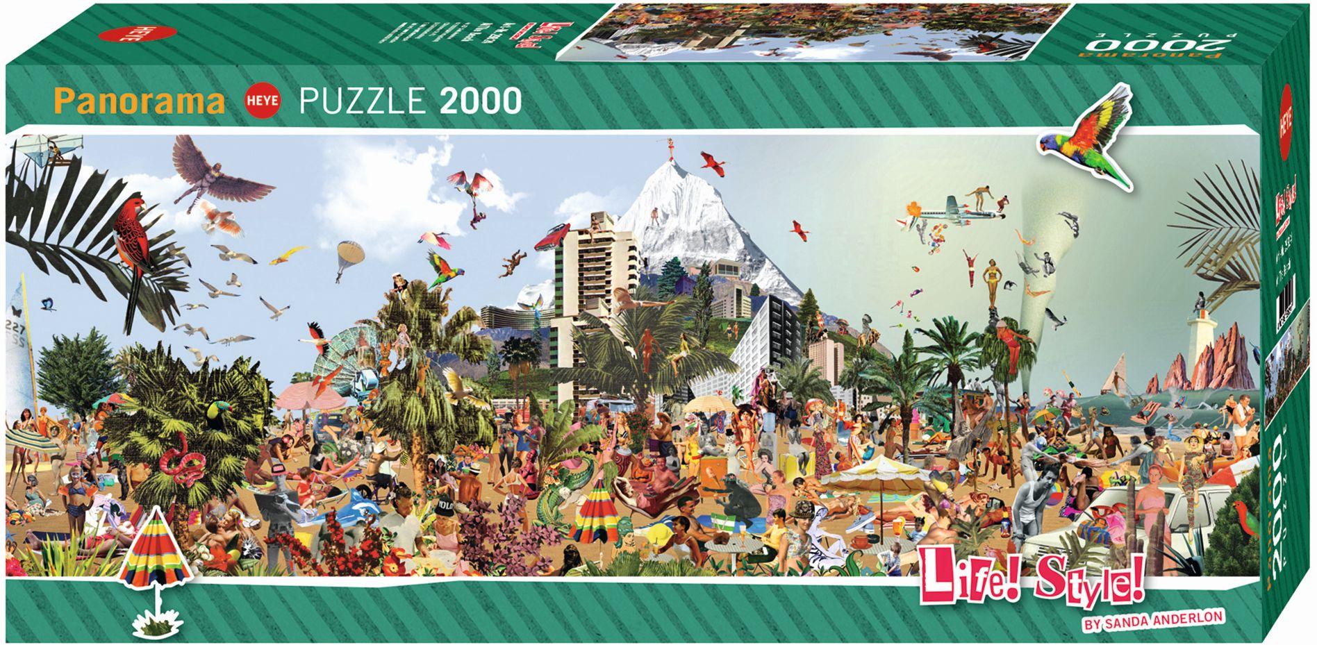 At The Beach Puzzle 2000 Teile als sonstige Artikel
