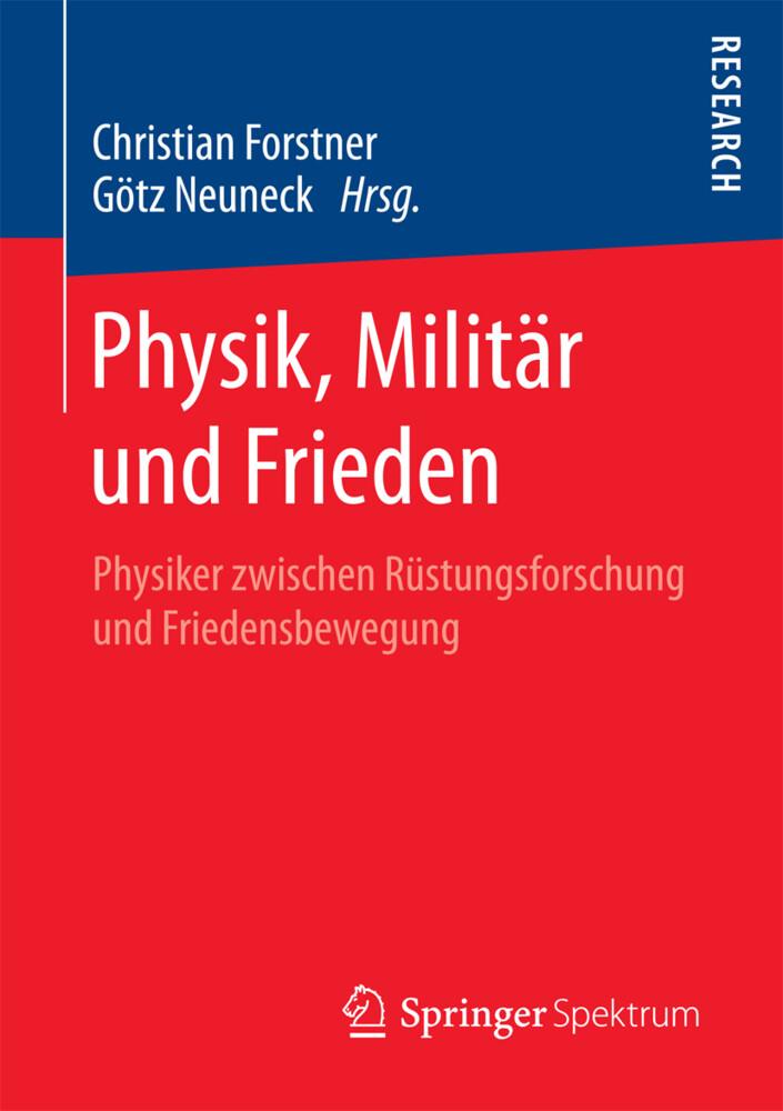 Physik, Militär und Frieden als Buch von
