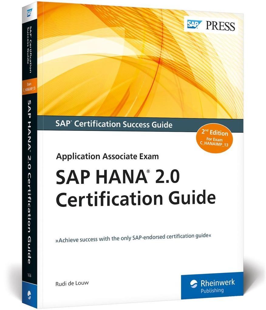 SAP HANA 2.0 Certification Guide als Buch von R...