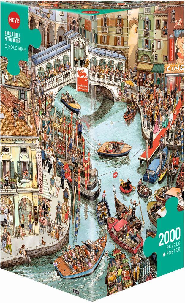 O Sole Mio! Puzzle 2000 Teile als Spielwaren