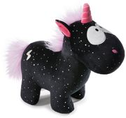 NICI - Theodor and Friends Kuscheltier Einhorn Carbon Flash, 13 cm