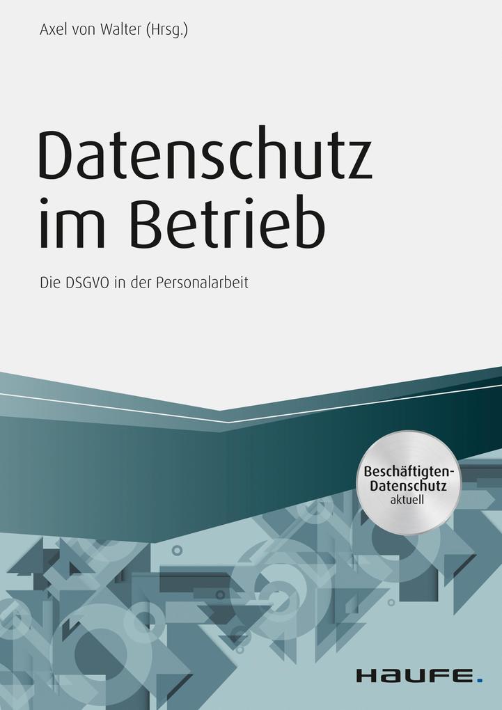 Datenschutz im Betrieb als eBook