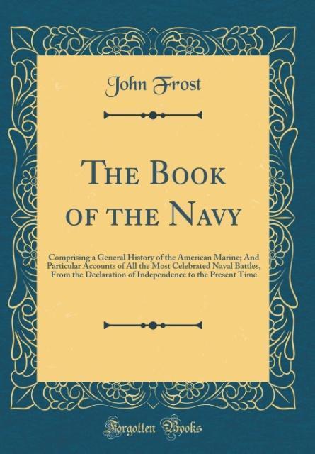 The Book of the Navy als Buch von John Frost