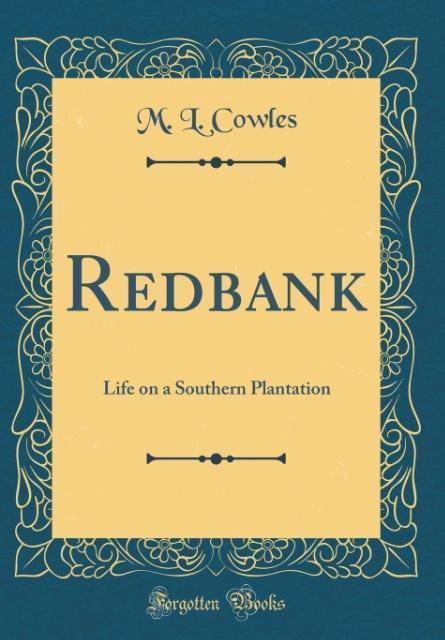 Redbank als Buch von M. L. Cowles
