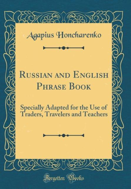 Russian and English Phrase Book als Buch von Ag...