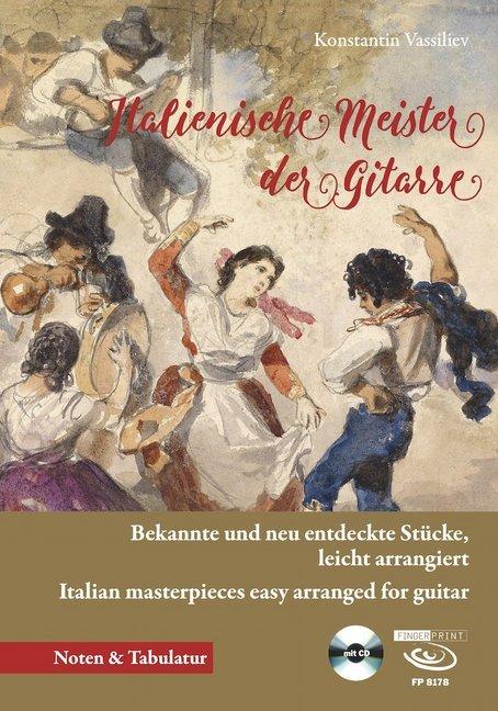 Italienische Meister der Gitarre, m. 1 Audio-CD...