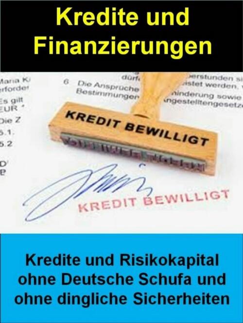 Kredite und Finanzierungen als eBook Download v...