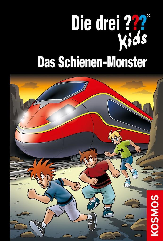 Die drei ??? Kids 74, Das Schienen-Monster (drei Fragezeichen) als Buch