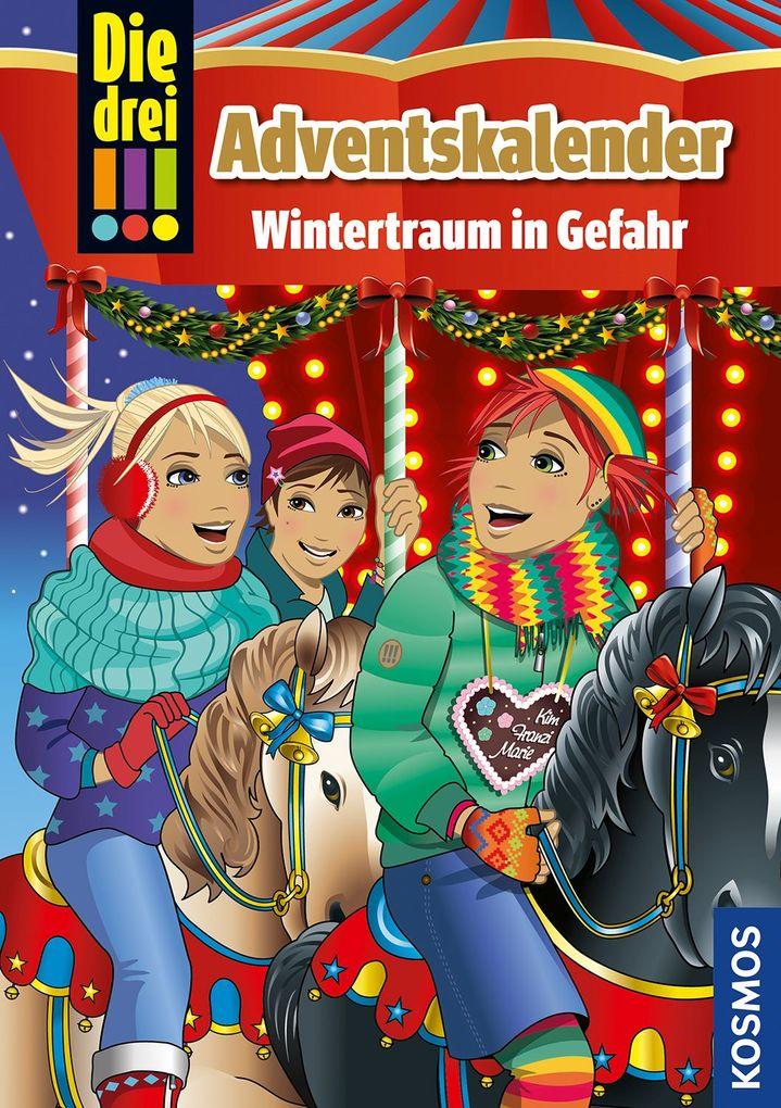 Die drei !!!. Wintertraum in Gefahr (drei Ausrufezeichen) als Buch