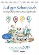 Auf gut Schwäbisch Kalender 2019