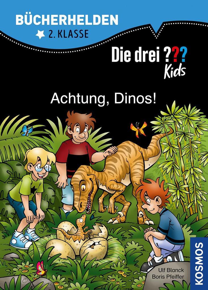 Die drei ??? Kids, Bücherhelden, Achtung, Dinos! (drei Fragezeichen) als Buch