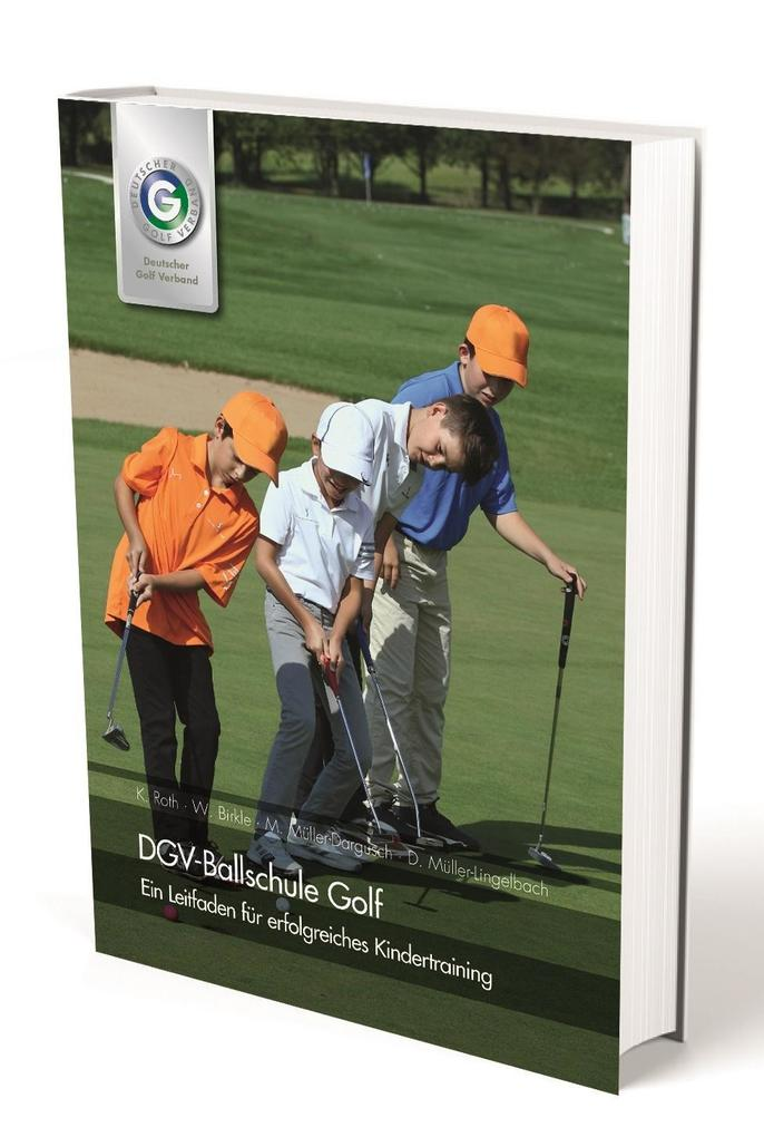 DGV-Ballschule Golf als Buch