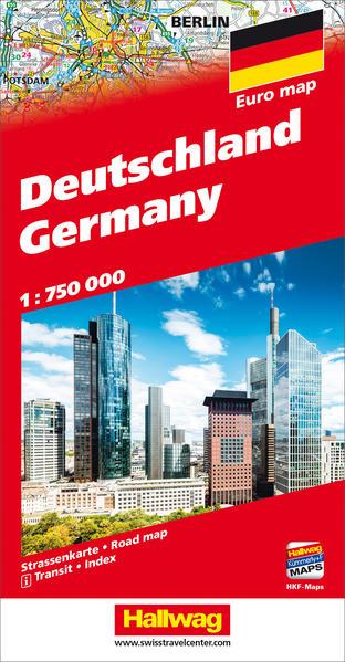 Deutschland Strassenkarte 1:750 000 als Buch von