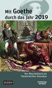 Mit Goethe durch das Jahr 2019