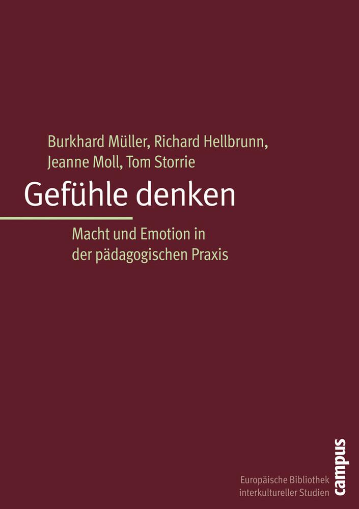 Gefühle denken als Buch von Burkhard Müller, Ri...
