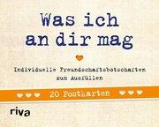 Was ich an dir mag - 20 Postkarten