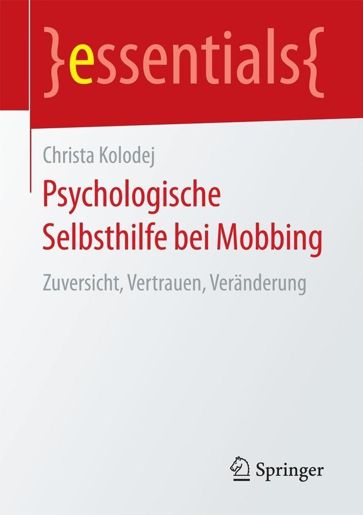 Psychologische Selbsthilfe bei Mobbing als eBoo...