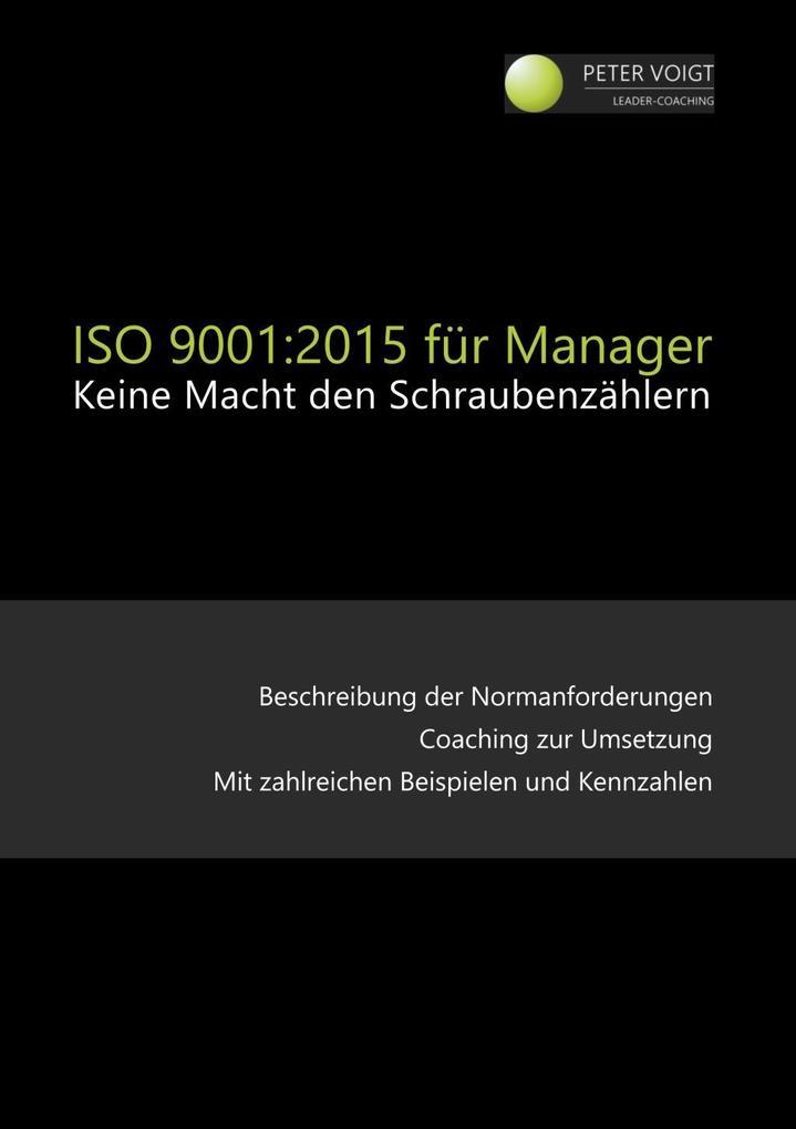 ISO 9001:2015 für Manager als eBook Download vo...