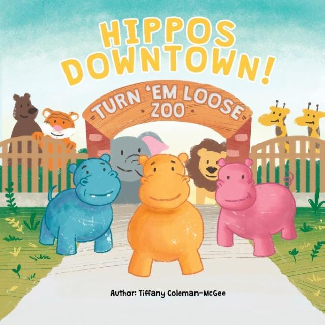 Hippos Downtown! als Taschenbuch von Tiffany Co...