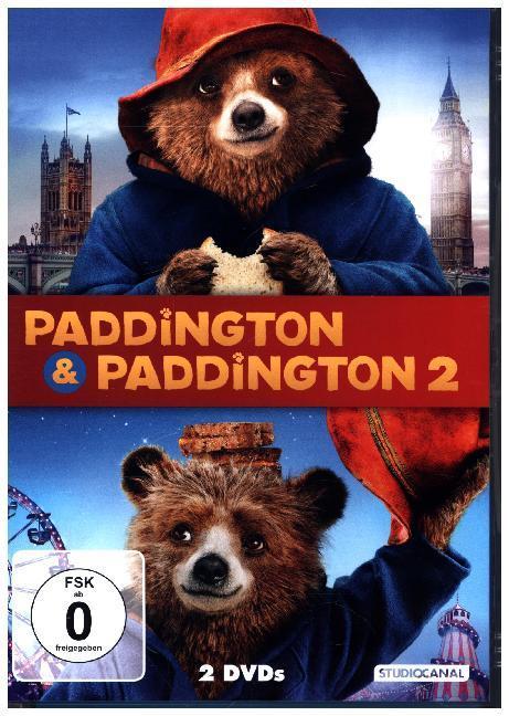 Paddington 1 & 2 als DVD