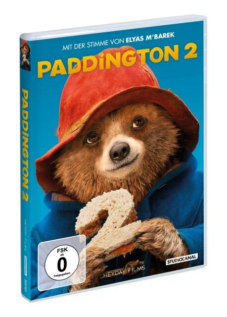 Paddington 2 als DVD