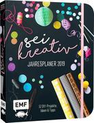Sei kreativ! Jahresplaner 2019