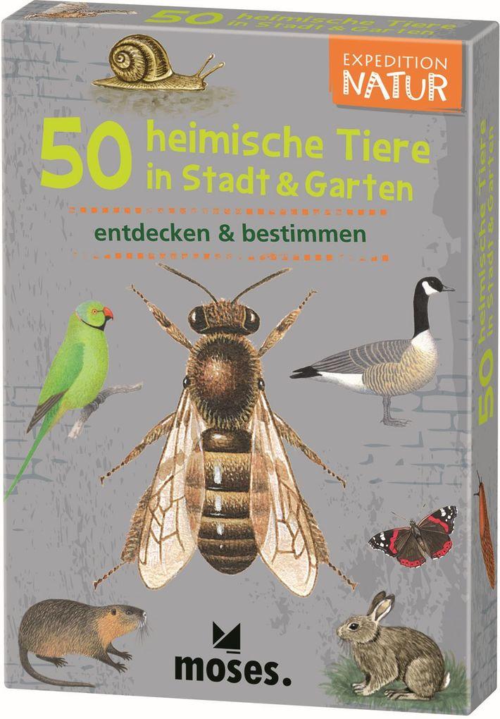 Expedition Natur. 50 heimische Tiere in Stadt & Garten als Spielwaren
