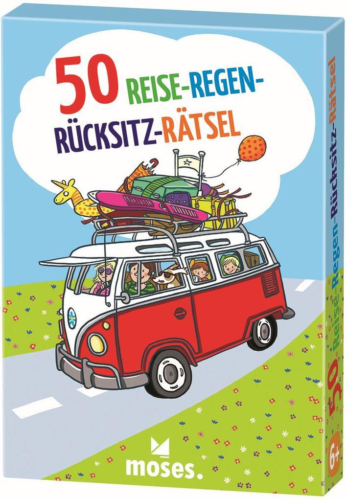50 Reise-Regen-Rücksitz-Rätsel als Spielwaren