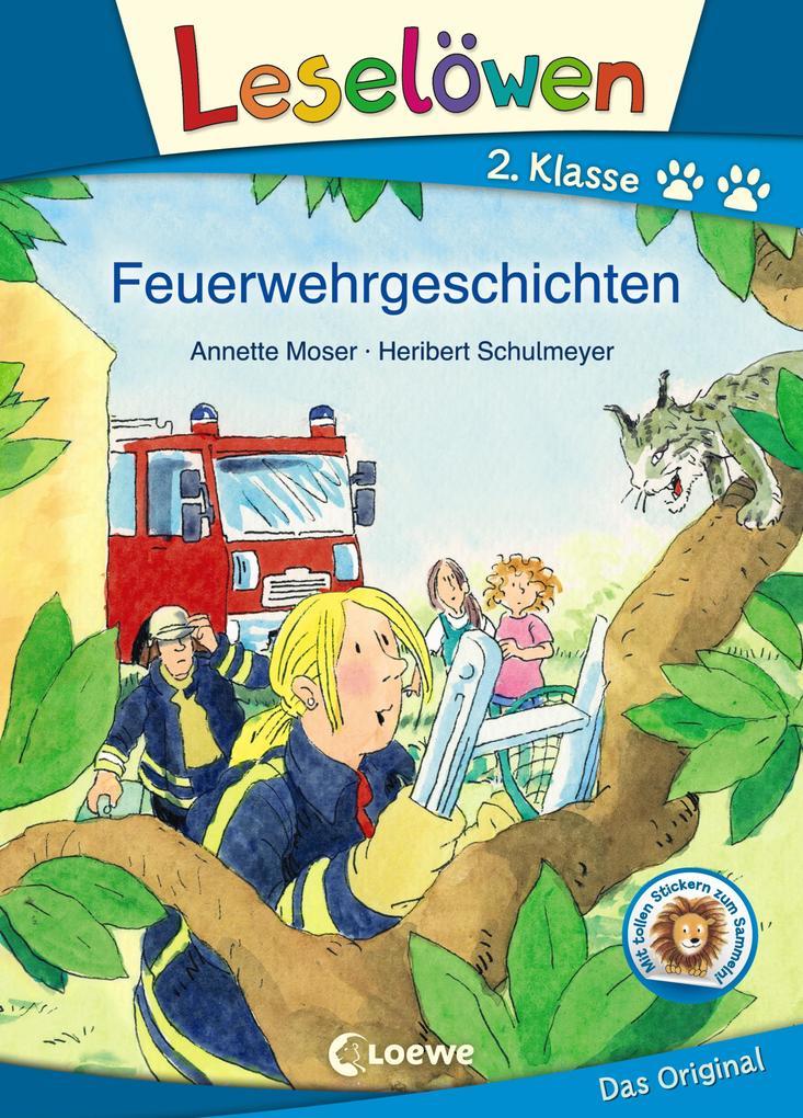 Leselöwen 2. Klasse - Feuerwehrgeschichten als Buch