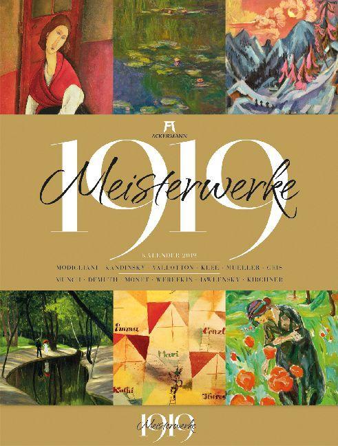 Meisterwerke 1919. Kalender 2019