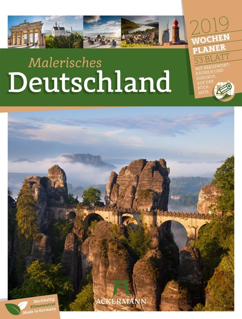 Malerisches Deutschland - Wochenplaner 2019