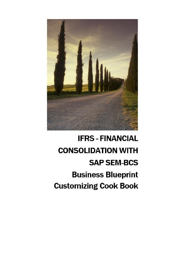 IFRS - FINANCIAL CONSOLIDATION WITH SAP SEM-BCS...