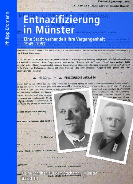 Entnazifizierung in Münster als Buch von Philip...