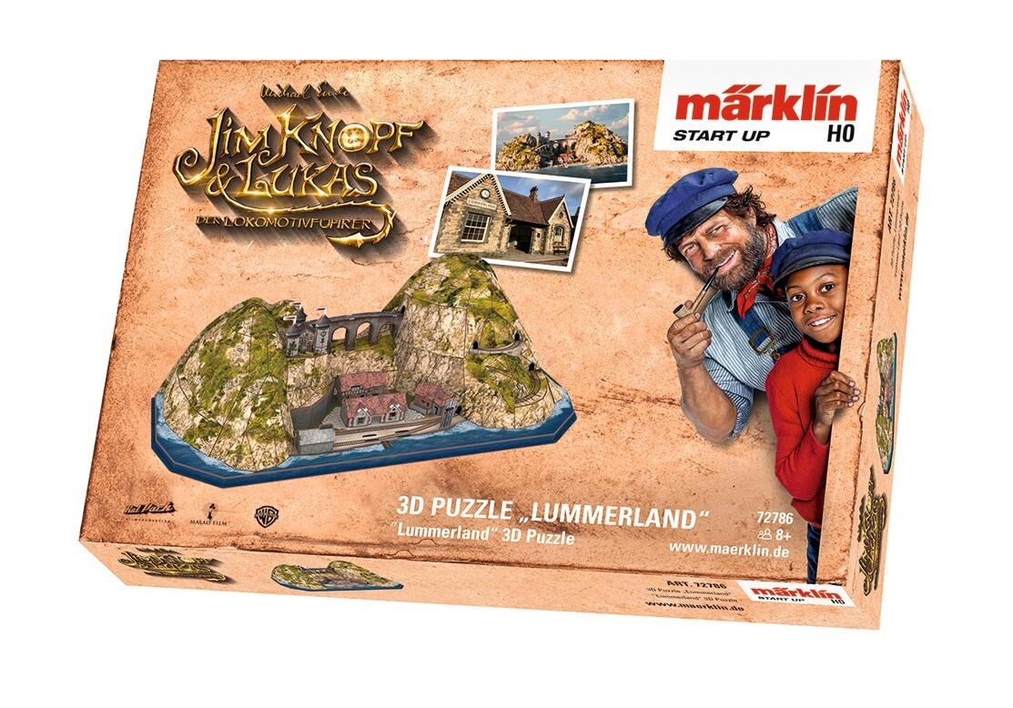 Märklin - Märklin Start up - 3D Puzzle Lummerland als Spielware