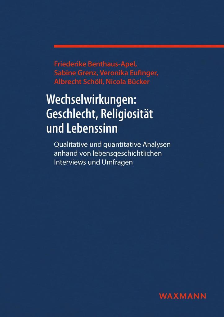 Wechselwirkungen: Geschlecht, Religiosität und ...