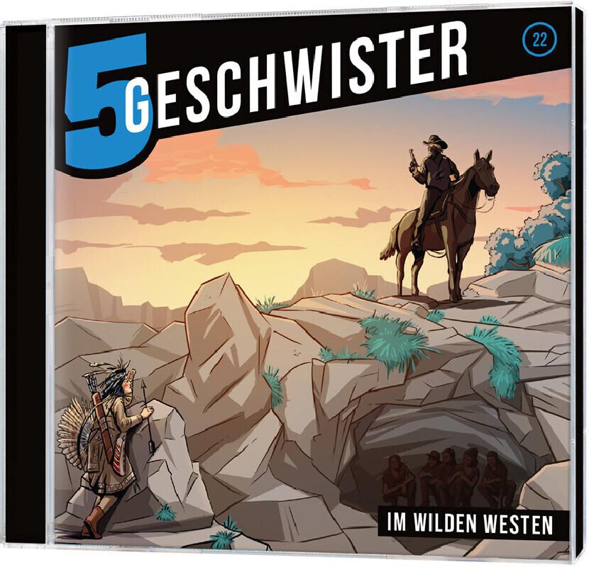 CD Im wilden Westen - 5 Geschwister (22) als Hö...