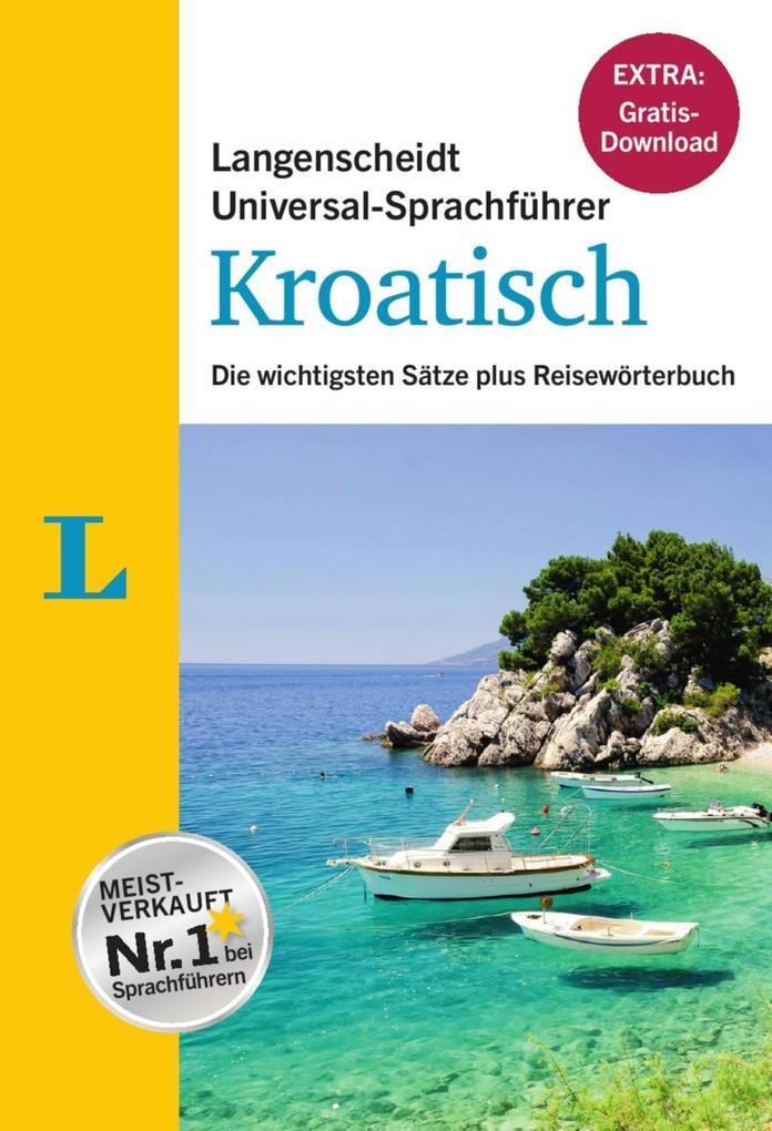 Langenscheidt Universal-Sprachführer Kroatisch ...