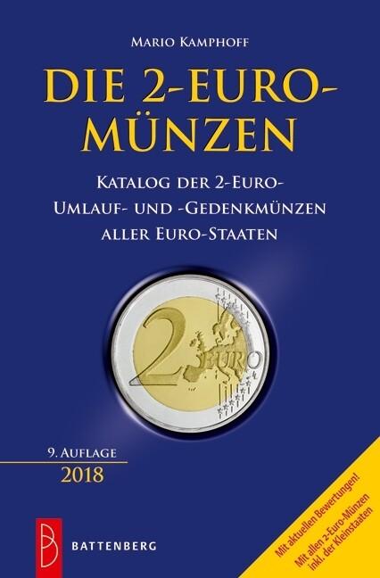 Die 2 Euro Münzen Buch Mario Kamphoff