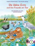 Die kleine Ente und ihre Freunde am See /m.CD