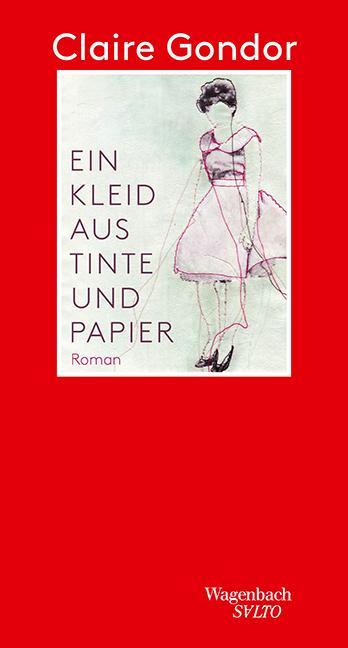 Ein Kleid aus Tinte und Papier als Buch