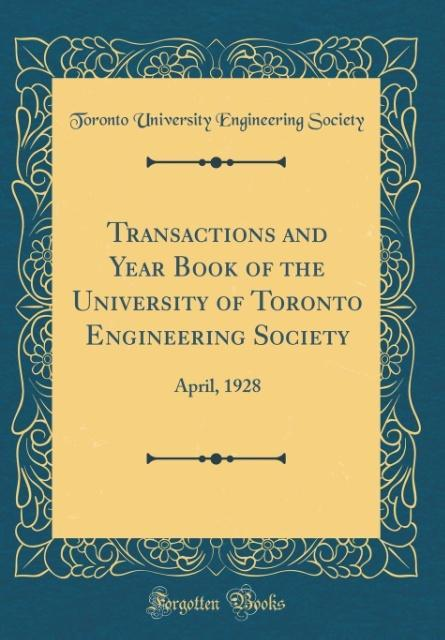 Transactions and Year Book of the University of...