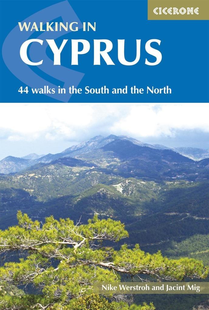 Walking in Cyprus als eBook Download von Nike W...