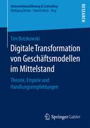 Digitale Transformation von Geschäftsmodellen im Mittelstand