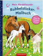 Mein Pferdefreunde-Rubbelsticker-Malbuch
