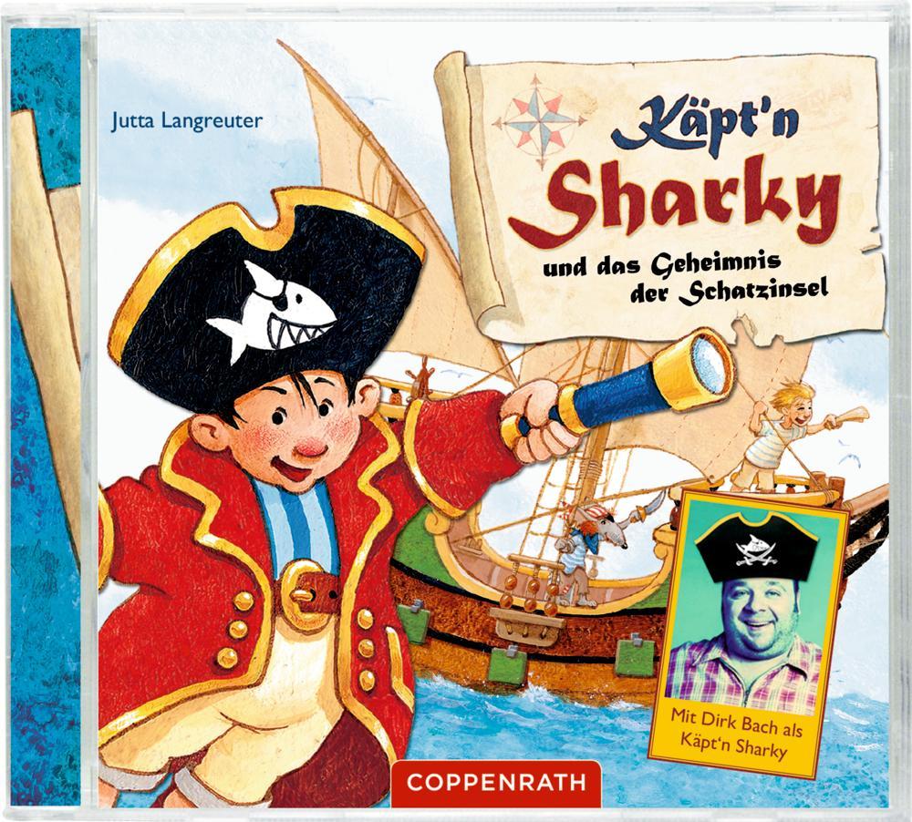 Käpt'n Sharky und das Geheimnis der Schatzinsel als CD