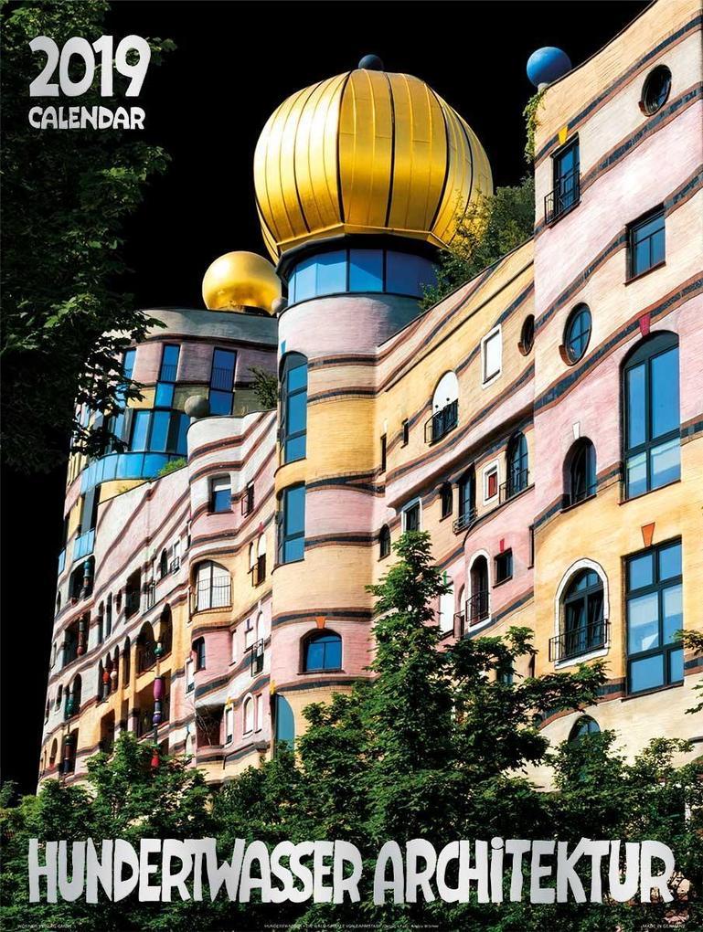 Gro er hundertwasser architektur kalender 2019 ebay for Hundertwasser architektur