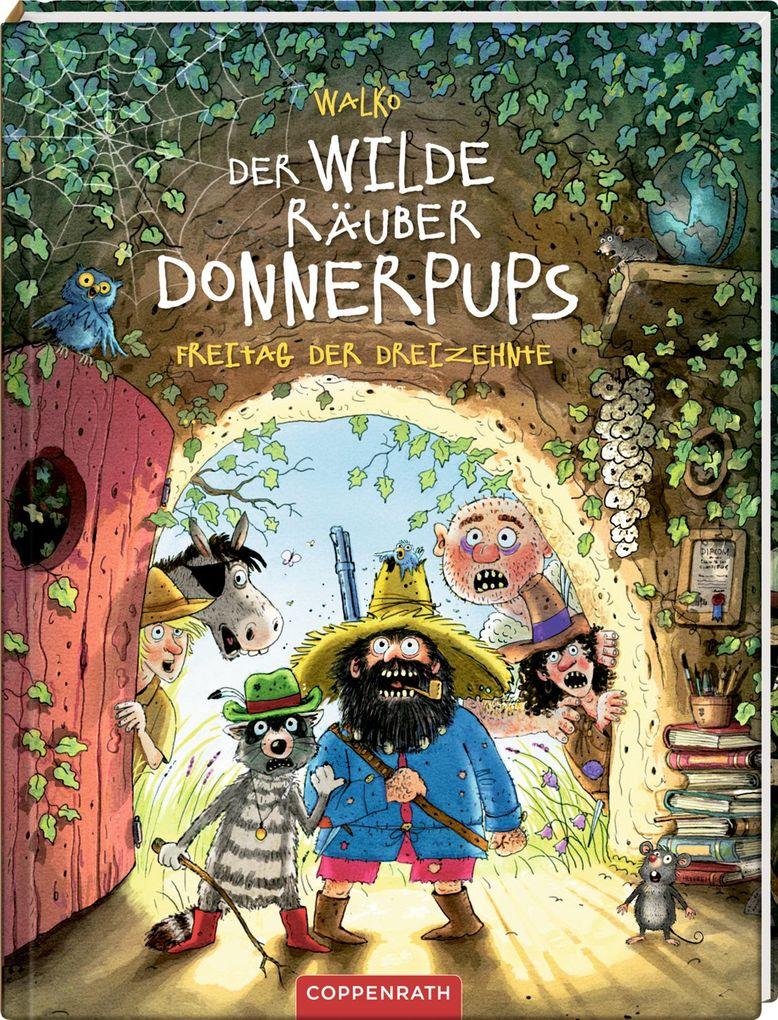 Der wilde Räuber Donnerpups - Band 3. Freitag der Dreizehnte als Buch