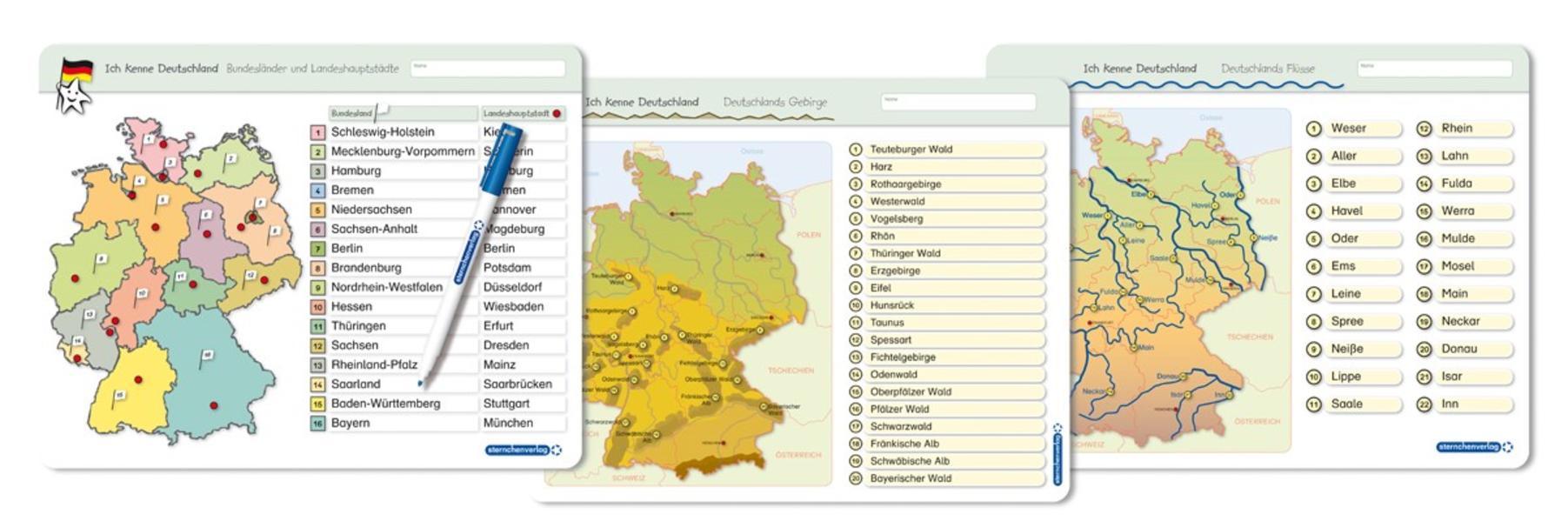 Ich Kenne Deutschland 1 Bundeslander Landeshauptstadte 2